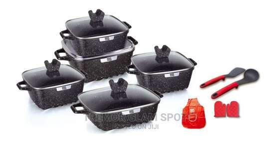 15pcs Square Cookware Sets image 2