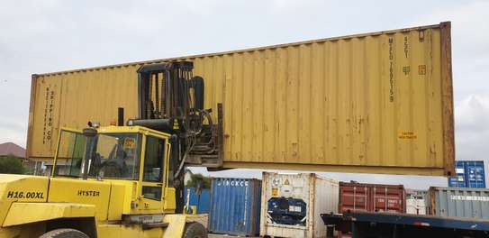 Container transport and crane trucks for hire image 6