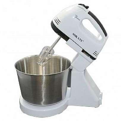 Sokany Hand Mixer With Bowl image 2