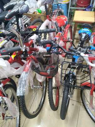 Mountain Bike size 26 with gears and spring shock absorber image 1