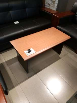 Wooden reception table image 1
