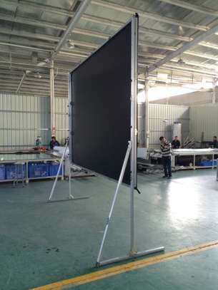 Fast Folding Projection Screen with Draper Kits Custom Sizes image 2