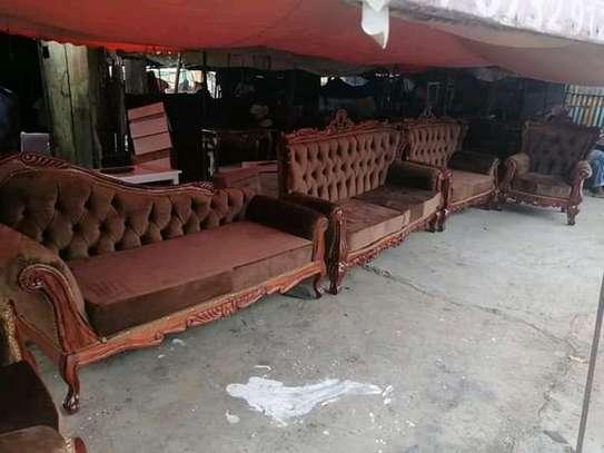 7 seater Antique Sofas image 1
