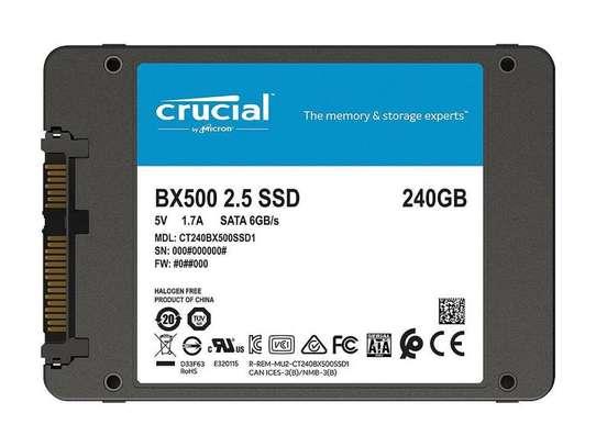 Crucial BX500 240GB 2.5 Inch SATA 3 Internal SSD image 1