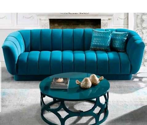 3 seater deep tufted sofa image 1