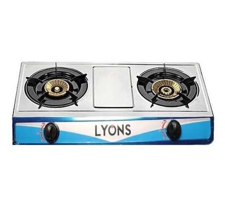 Lyons 2 burner gas cooker image 1