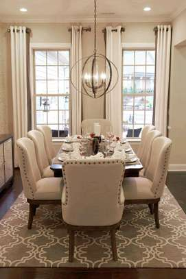 Eight seater dining table set/Modern dining chairs for sale in Nairobi Kenya/Best dining table manufacturers in Nairobi Kenya image 1