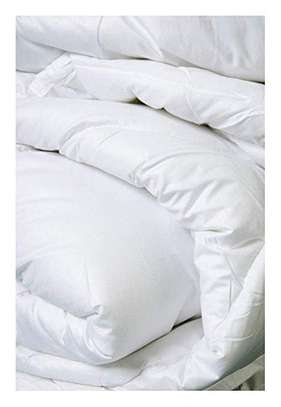 White Duvets with Bed Sheet and A Pair Of Pillow Case image 1