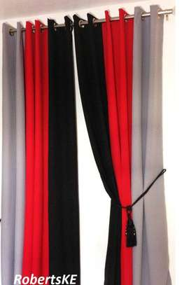 marron curtain image 1