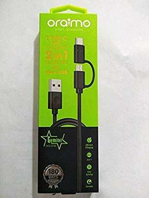 Oraimo type c cable image 1
