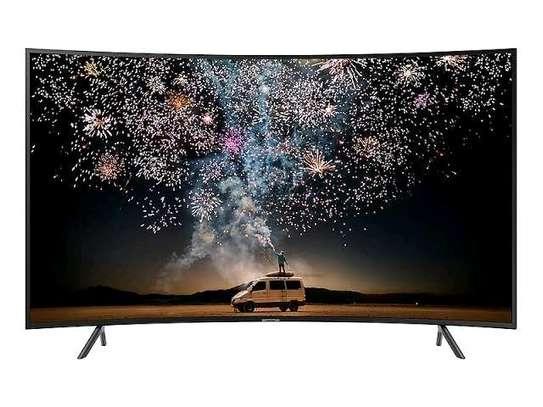 Samsung 55 Inch UHD 4K LED Curved Smart TV Black image 1
