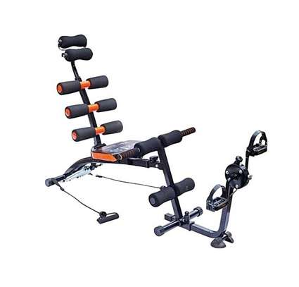 Multi Purpose Six Pack Care ABS Fitness Machine- Cycle image 3