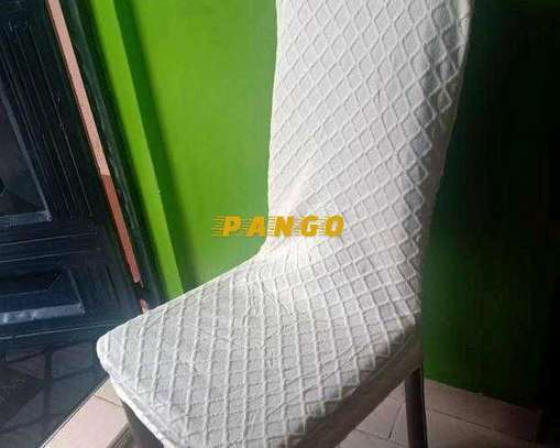 Dinning Elastic chair seatcovers image 2