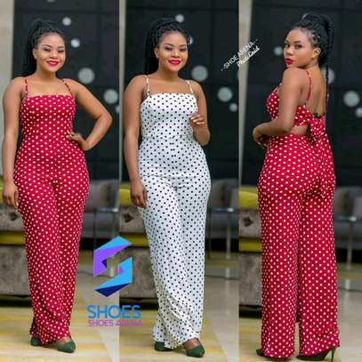 Doted jumpsuit image 1