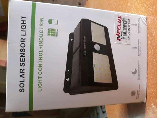 Security solar sensor light image 1
