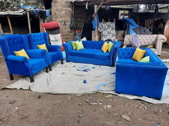 7 seater Chesterfield image 1