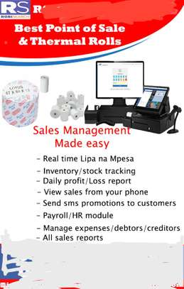 Integrated POS Software