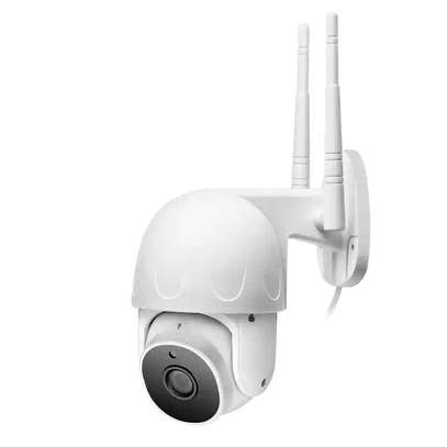 cctv camera Solar  Rotate 355° left and right, 120° up and down image 4