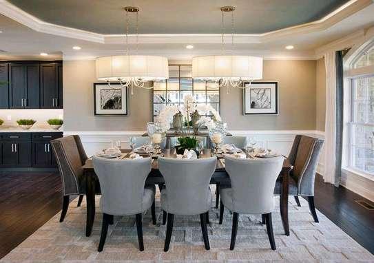 Modern eight seater dining table set/Best Furniture stores in Nairobi Kenya/Customized Furniture designs Nairobi image 1