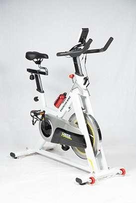 Spin bike with 15kg Flywheel image 2