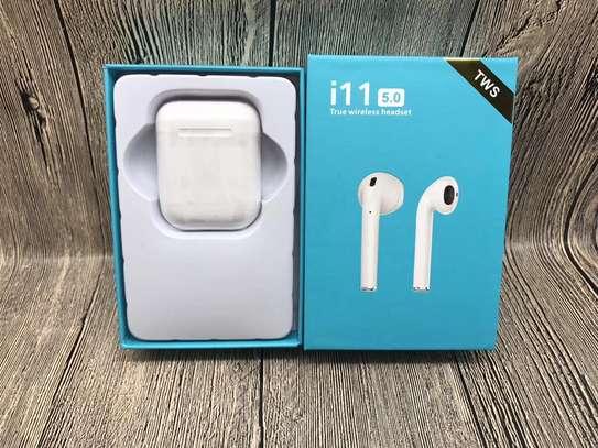 i11 5.0 tws Bluetooth Headset image 1
