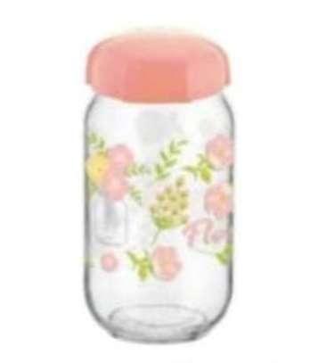 Food Spice Cereals Candy Storage Glass Jar image 1