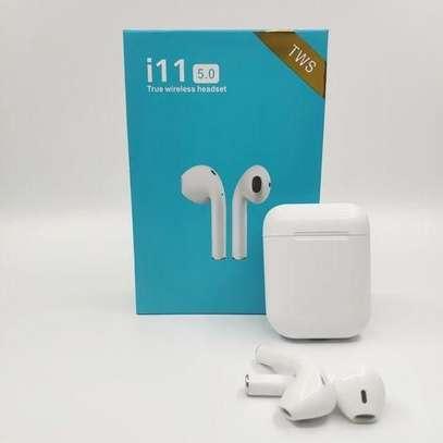 i11 Bluetooth Wireless Twin Mini Earphone image 1
