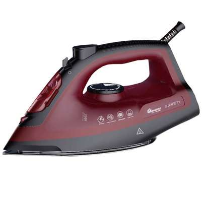 RAMTONS RED STEAM IRON - RM/584 image 1