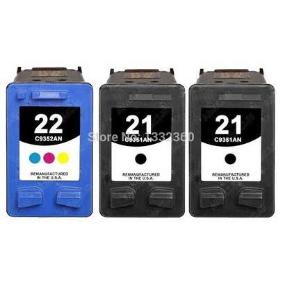 HP inkjet refilling 21 and 22 cartridges image 4