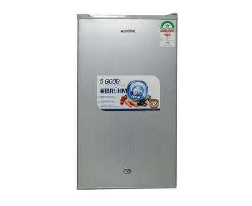 Bruhm BFS 93MD, 93Lts Single Door Refrigerator – Silver image 1