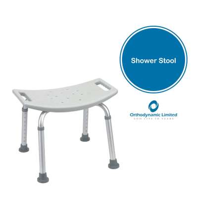 Bathroom Bench With Adjustable Height - shower chair image 1
