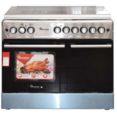 Ramtons 4G+2E 90X60 STAINLESS STEEL COOKER- RF/493 image 2