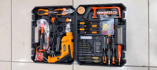 Dera COMPLETE TOOLKIT WITH 750WATTS DRILL image 1