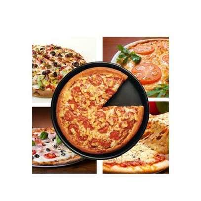 40Cm Round Non-stick Pizza Pan Baking Cooking Oven Tray image 1