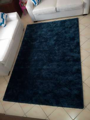 Navy Blue Soft Carpet 5*8 image 4