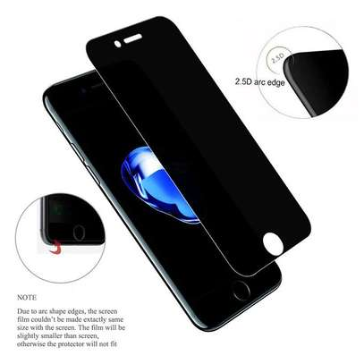 5D Full Glue Anti-spy Privacy Screen Protector For iPhone 8/8 Plus image 4