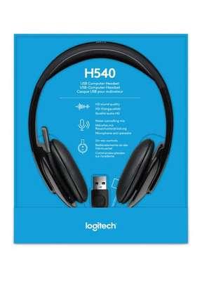 Logitech H540 stereo Headset image 1