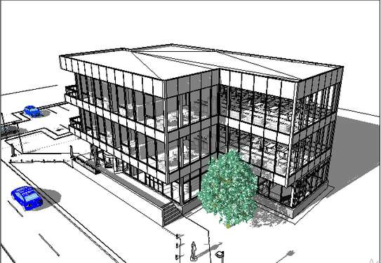 Office building plan image 2