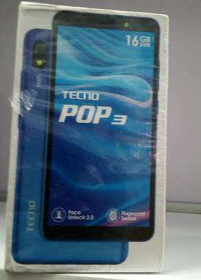 "Tecno Pop 3 -(BB2) 16GB+1GB RAM- 5.7"" - 3500mAh Battery - fingerprint sensor- Dual SIM - Black"