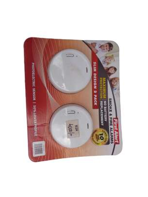 Photoelectric Smoke and Fire Alarm