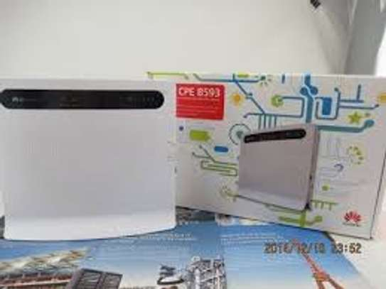 B593 HUAWEI LTE CPE 4G ROUTER image 1
