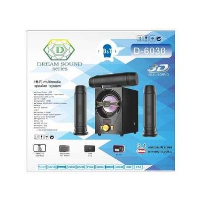 Dream Sound Series D-6030 3.1CH Speaker System - Black image 2