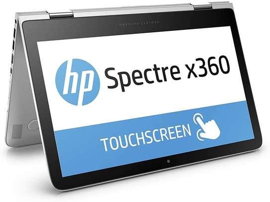 HP Spectre 13 Convertible Ultrabook X360  Intel Core i5 6200U 8GB DDR3L SDRAM, 256 GB SSD, Intel HD Graphics Card 520, QHD IPS Touchscreen, Win10 – Silver image 2