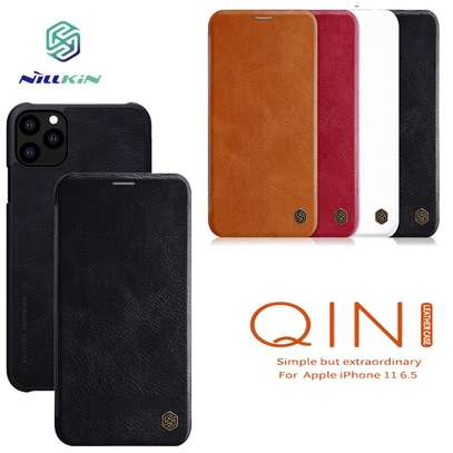 Nillkin Qin Series Leather Flip Wallet Case For iPhone 11 iPhone 11 Pro iPhone 11 Pro Max image 2