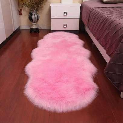 Colorful bedside mat image 1