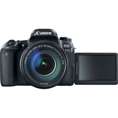 Canon EOS 77D DSLR Camera with 18-135mm USM Lens image 3