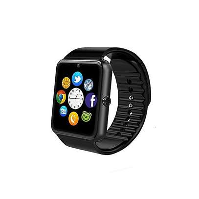 GT08 Bluetooth Smart Watch Phone Sim/Memory Card slot -Black