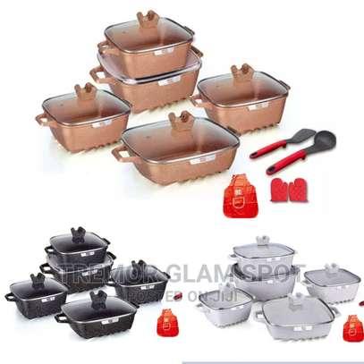 15pcs Square Cookware Sets image 4