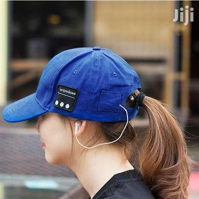 Bluetooth Headphones Bluetooth Hat Wireless Smart Speakerphone Cap for Outdoor Sport Baseball Cap image 1
