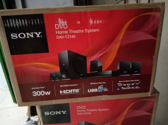 SONY TZ140 HOME THEATRE SYSTEM image 2